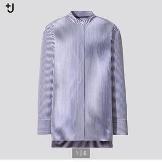UNIQLO - ユニクロ +J   スーピマコットンカラーストライプシャツ