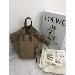 LOEWE - LOEWE ロエベ ハンモック バッグ スモール サンドミンク