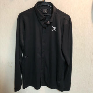 Oakley - オークリー 長袖ポロシャツ 黒 XL
