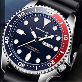 新品 BEN NEVIS ダイバーズタイプウォッチ ツートーンベゼル 腕時計