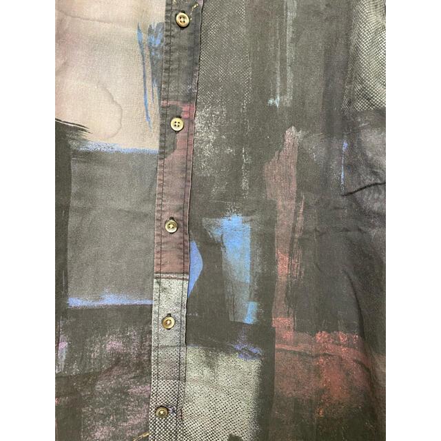 Paul Smith(ポールスミス)の【美品】Paul Smith 総柄シャツ デザインシャツ アート メンズのトップス(シャツ)の商品写真