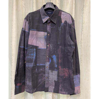 Paul Smith - 【美品】Paul Smith 総柄シャツ デザインシャツ アート