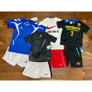 NIKE - 【新品】 まとめ売り サッカー ウェア 上下セット×4点 合計8点 NIKE