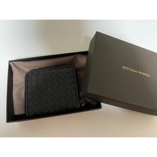 ボッテガヴェネタ(Bottega Veneta)のBOTTEGA VENETA 二つ折り財布 黒 メンズ(折り財布)