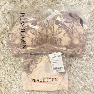 ピーチジョン(PEACH JOHN)のPJ ナイスバディフルラージュVer.2 ブラショーツセット(ブラ&ショーツセット)