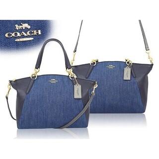 COACH - コーチ  レザー デニム  2way バッグ