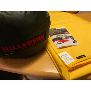 HILLEBERG - HILLEBERG ヒルバーグ カイタム4GT 専用フットプリント付 送料込み