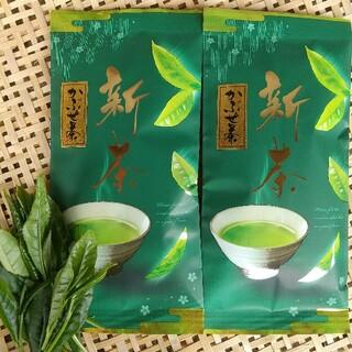 産地直送 大和茶 新茶かぶせ茶80g×2袋◯2021年新茶かぶせ (茶)