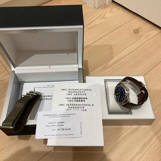 インターナショナルウォッチカンパニー(IWC)のIWC IW326801  美品(腕時計(アナログ))
