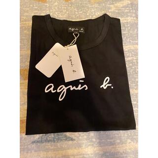 agnes b. - アニエスベー 半袖 Tシャツ Lサイズ 黒 レディース タグ付き