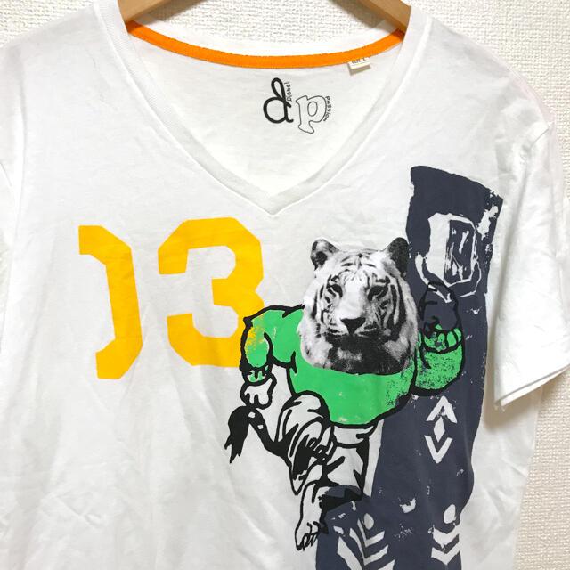 DIESEL(ディーゼル)のDIESEL  トラ タイガー ユニークTシャツ⭐︎ メンズのトップス(Tシャツ/カットソー(半袖/袖なし))の商品写真