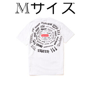 Supreme - Supreme Spiral Tee シュプリーム スパイラル M