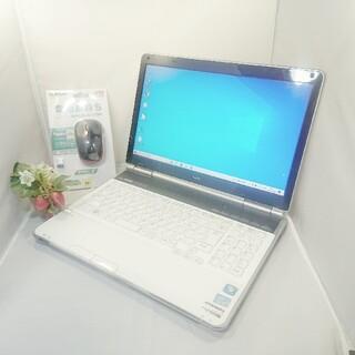 フジツウ(富士通)の高性能!NEC ノートパソコン WINDOWS10 テンキーあり(ノートPC)
