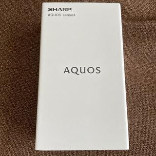 SHARP - AQUOS sense4 SH-M15 ブラック SIMフリー アクオスセンス4