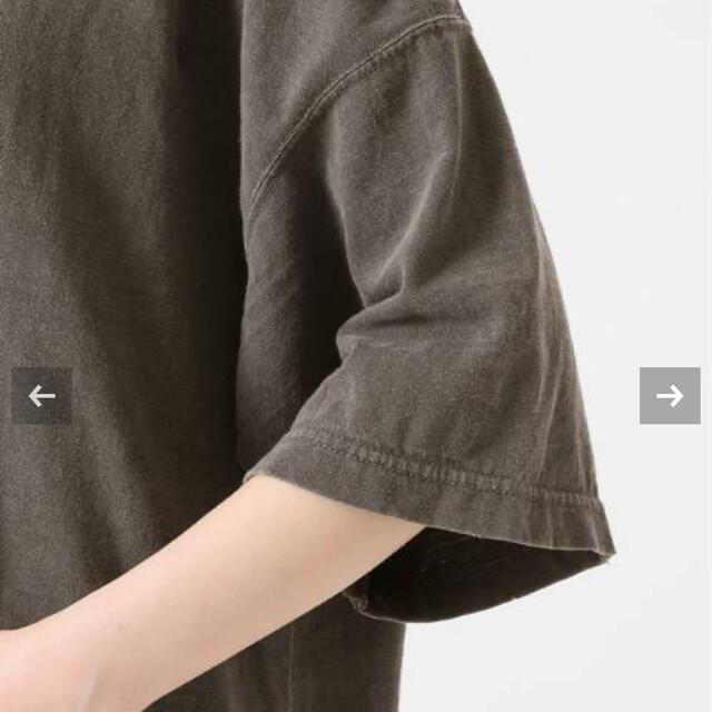 DEUXIEME CLASSE(ドゥーズィエムクラス)の18日まで❗️Deuxieme Classe loose T シャツ  グレーA レディースのトップス(Tシャツ(半袖/袖なし))の商品写真