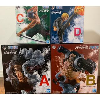 BANDAI - ワンピース 一番くじ バトルメモリーズ A賞 B賞 C賞 D賞