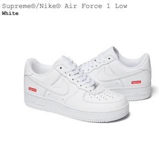 シュプリーム(Supreme)のSupreme Nike Air Force 1 Low 27.5 9.5 白(スニーカー)