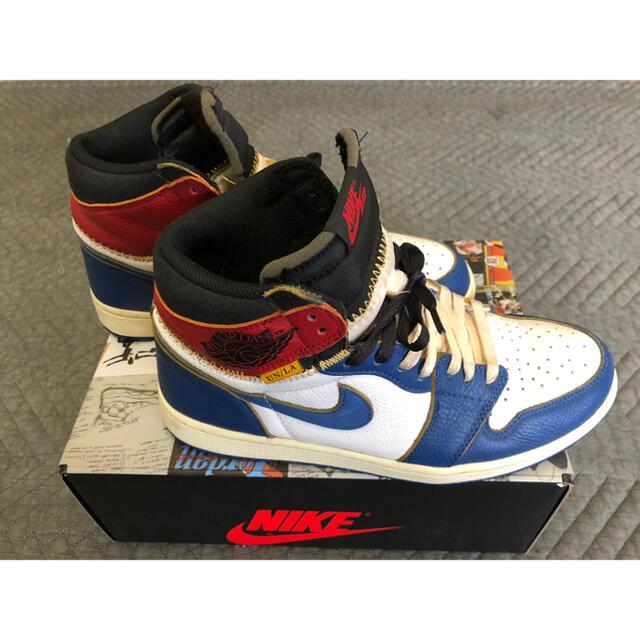 NIKE(ナイキ)のUNION NIKE AIR JORDAN 1 27.5 ユニオン ジョーダン メンズの靴/シューズ(スニーカー)の商品写真