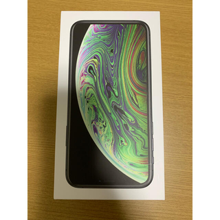 アップル(Apple)のApple iPhone XS スペースグレー 空箱(その他)