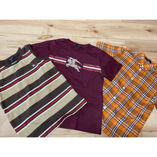 バーバリー(BURBERRY)のバーバリー 130 テイシャツ 3枚セット (Tシャツ/カットソー)