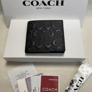 COACH - COACH 財布 折財布 メンズ F75363 シグネチャー クロスグレ