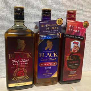 アサヒ - ブラックニッカ 3種類