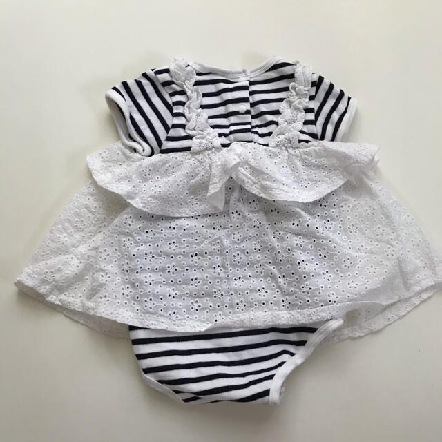 petit main(プティマイン)のpetit main ロンパース80 キッズ/ベビー/マタニティのベビー服(~85cm)(ロンパース)の商品写真