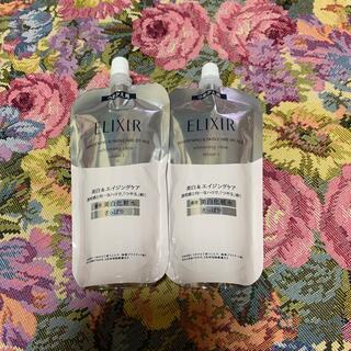 エリクシール ホワイト化粧水さっぱり詰め替え2本