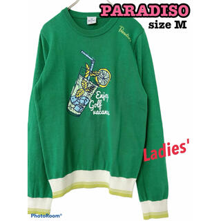 Paradiso - PARADISO パラディーゾ サマーニット 春 夏 薄手 トップス