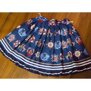 アンジェリックプリティー(Angelic Pretty)のAngelic Pretty Vintage Marine スカート コン(ひざ丈スカート)
