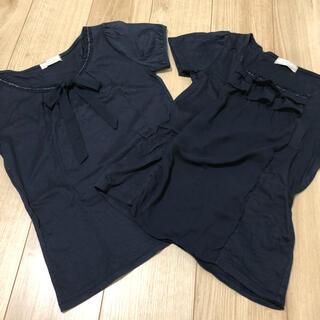 エニィスィス(anySiS)のanySIS 半袖 Tシャツ カットソー 2枚組(Tシャツ(半袖/袖なし))