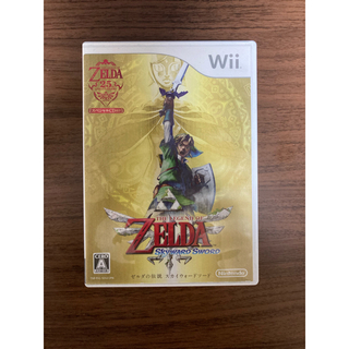 ニンテンドウ(任天堂)のゼルダの伝説 スカイウォードソード Wii CD付き(家庭用ゲームソフト)