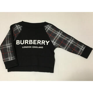 BURBERRY - バーバリー ロゴトレーナー