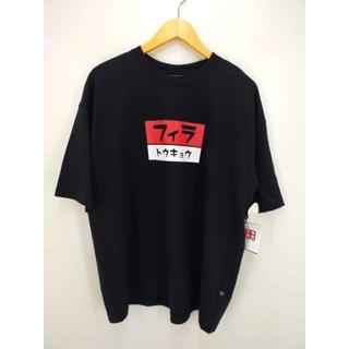 フィラ(FILA)のFILA(フィラ) クルーネックシャツ メンズ トップス Tシャツ・カットソー(Tシャツ/カットソー(半袖/袖なし))