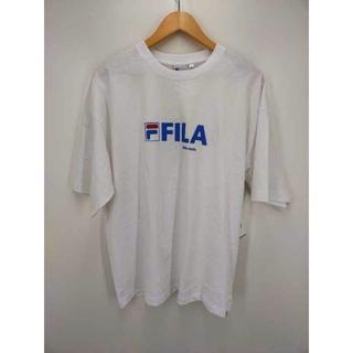 フィラ(FILA)のFILA(フィラ) プリント半袖Tシャツ メンズ トップス Tシャツ・カットソー(Tシャツ/カットソー(半袖/袖なし))
