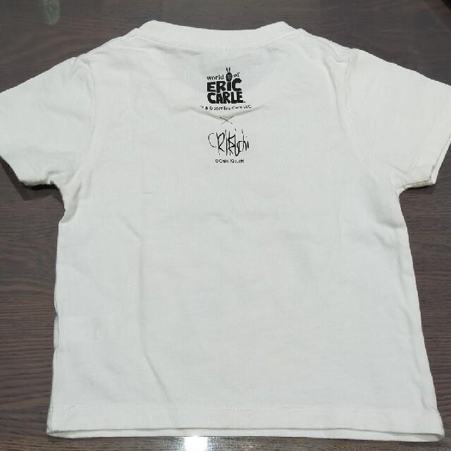 Design Tshirts Store graniph(グラニフ)の腹ペコあおむし☆Tシャツ キッズ/ベビー/マタニティのキッズ服男の子用(90cm~)(Tシャツ/カットソー)の商品写真