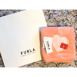 Furla - FURLA ハンカチ 新品 未使用 ギフトバッグ付