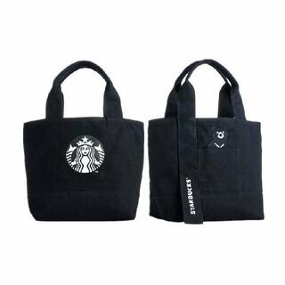 Starbucks Coffee - 【新品 未使用】スターバックス スタバ トートバッグ ブラック 台湾 限定 クマ