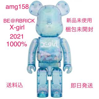 MEDICOM TOY - BE@RBRICK X-girl 2021 1000%