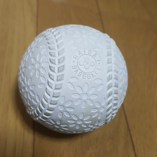 SSK(エスエスケイ)のテクニカルピッチ 軟式 J号球 SSK NAIGAI ナイガイ 少年野球  スポーツ/アウトドアの野球(ボール)の商品写真