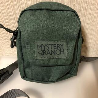 ミステリーランチ(MYSTERY RANCH)のほぼ新品 MYSTERY RANCH BOP ボップ カーキ(ショルダーバッグ)