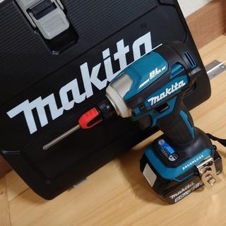 マキタ(Makita)の【まなぶん様専用】マキタ 18V 新品 インパクトドライバー TD172DRGX(工具/メンテナンス)