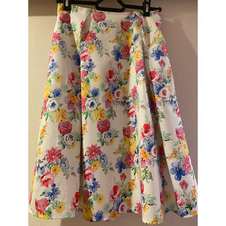 tocco - tocco closet 花柄フレアスカート