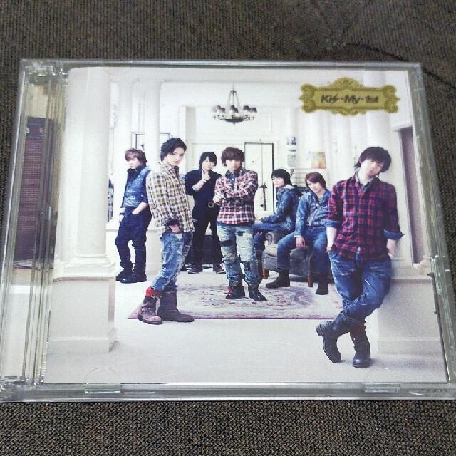 Kis-My-Ft2(キスマイフットツー)のKis-My-Ft2 Kis-My-1st (特典CD付) エンタメ/ホビーのタレントグッズ(アイドルグッズ)の商品写真