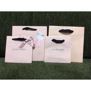 ジルスチュアート(JILLSTUART)の【JILL STUART】ジルスチュアート ショッパーSET  紙袋4点(ショップ袋)