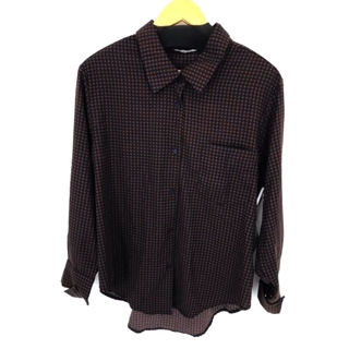 moussy - MOUSSY(マウジー) HOUNDSTOOTH LOOSE SHIRT