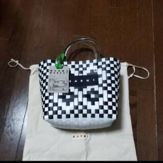 Marni - 正規品 新品未使用 MARNI マルニ マルニフラワーカフェ ピクニックバッグ