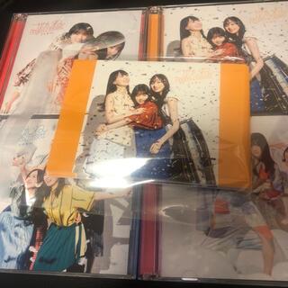 ノギザカフォーティーシックス(乃木坂46)の乃木坂46 27th ごめんねFingers crossed CD4枚セット(アイドルグッズ)