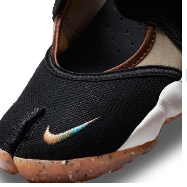NIKE(ナイキ)の23㎝‼️最安‼️新品‼️ナイキ エアリフト 足袋 黒❤️箱付‼️黒タグ付‼️ レディースの靴/シューズ(スニーカー)の商品写真