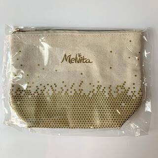 Melvita - 新品未開封 Melvita メルヴィータ コットンポーチ